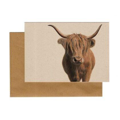 Kaart Schotse hooglander