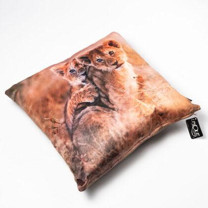 Kussen leeuwen welpjes