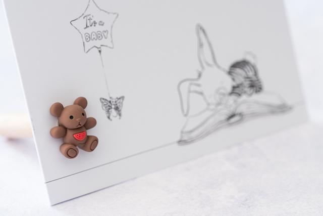 Kaartpin Sfeerfoto Brown Bear